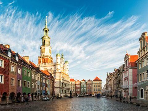 Flybilletter til Poznan