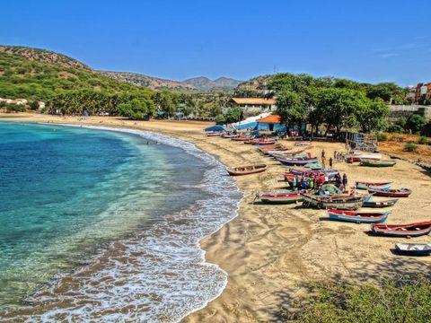 Flybilletter til Praia