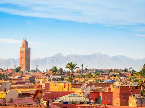 Flybilletter til Marrakech