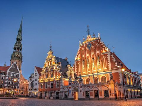 Flybilletter til Latvia
