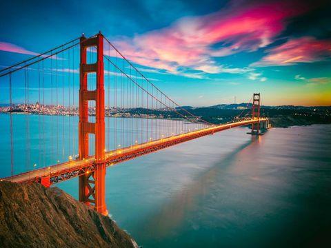 Fly til San Francisco