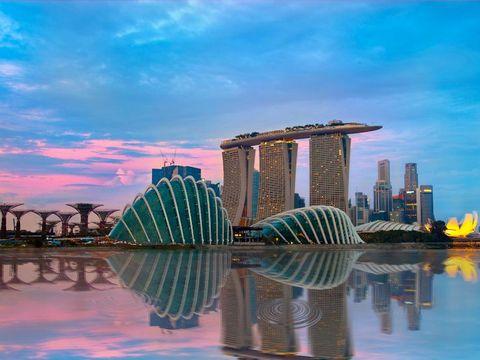 Flybilletter til Singapore