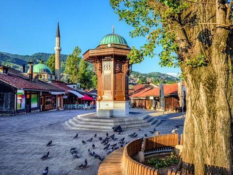 Flybilletter til Bosnia-Hercegovina