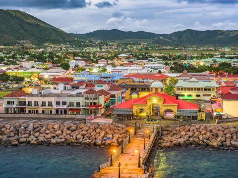 Flybilletter til Saint Kitts og Nevis