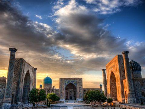 Flybilletter til Samarkand