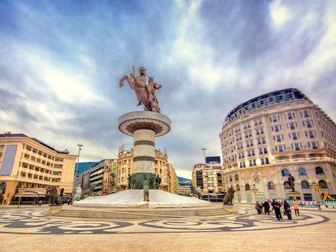 Flybilletter til Skopje
