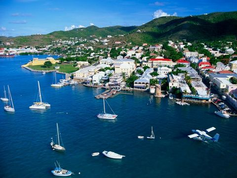 Flygresor till St Croix Island