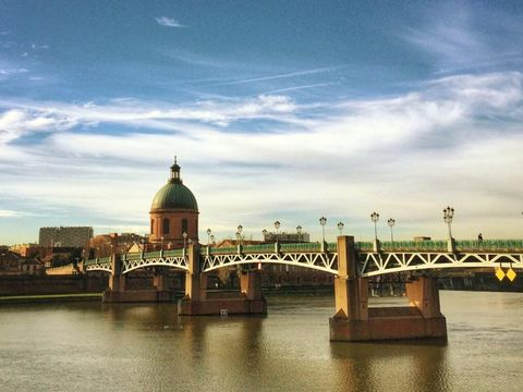Fly til Toulouse