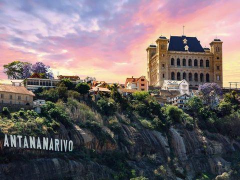 Flybilletter til Antananarivo