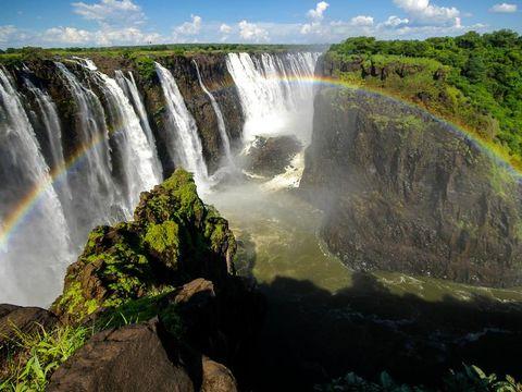 Flybilletter til Victoria Falls