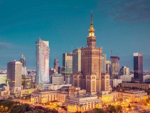 Flygresor till Warszawa