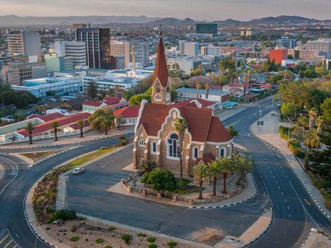 Flybilletter til Windhoek