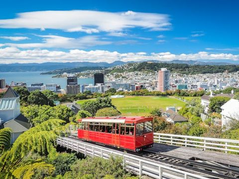 Flybilletter til Wellington