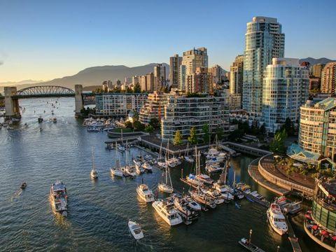 Fly til Vancouver