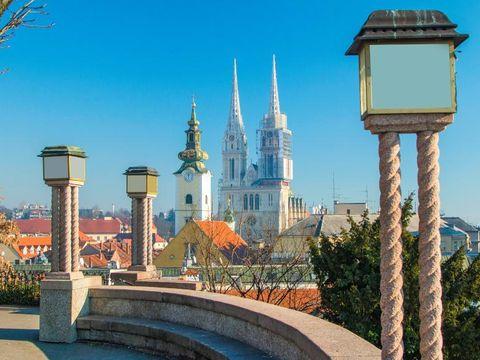 Fly til Zagreb