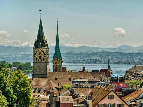 Flybilletter til Sveits