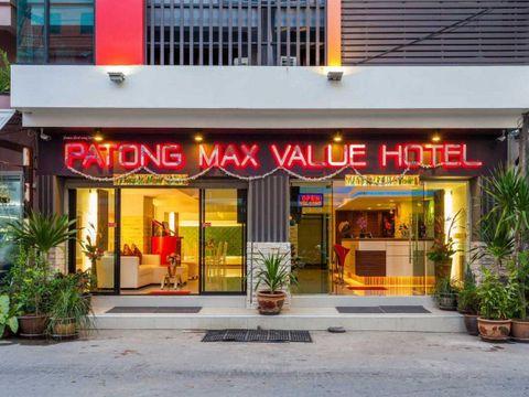 Pakkereiser til Patong Max Value Hotel