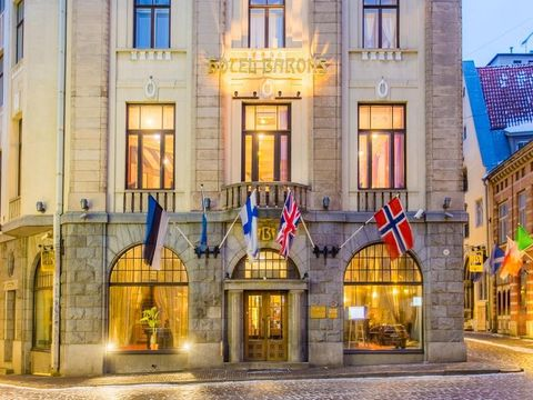 Pakkereiser til Hestia Hotel Barons
