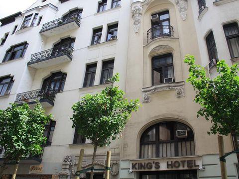 Pakkereiser til King's Hotel Budapest