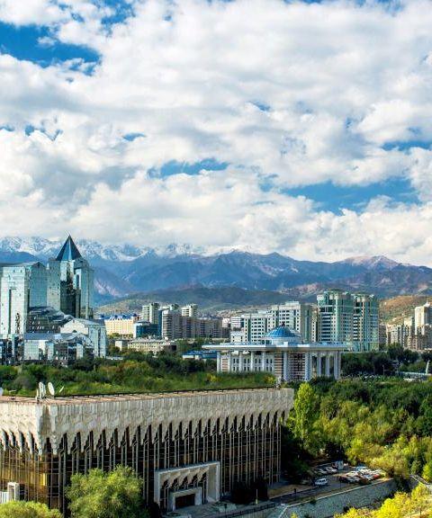 Fly til Kasakhstan