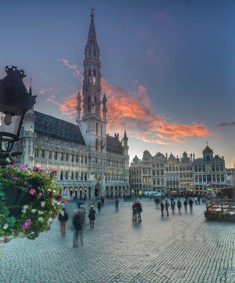 Fly til Belgia