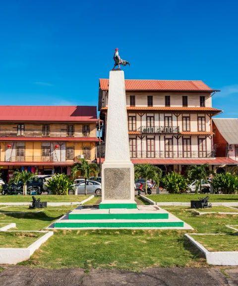 Fly til Fransk Guyana
