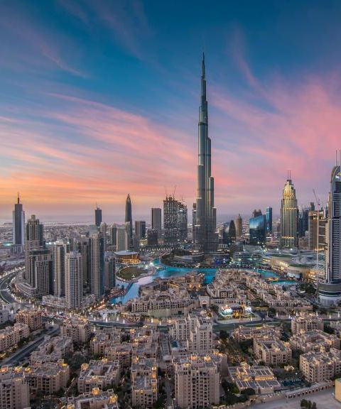 Pakkereiser til Forente arabiske emirater