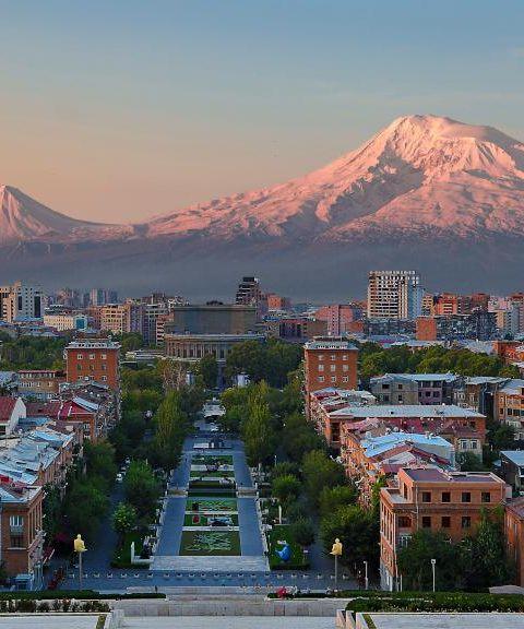Fly til Armenia