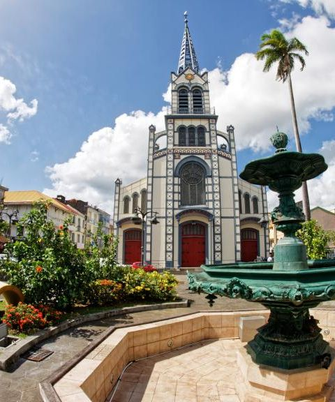 Fly til Martinique