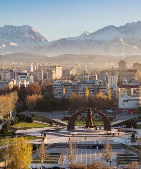 Fly til Kirgisistan
