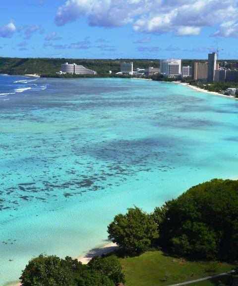 Fly til Guam