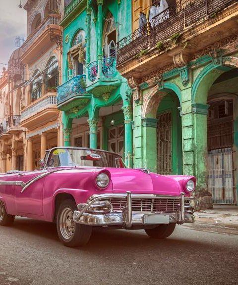 Fly til Cuba