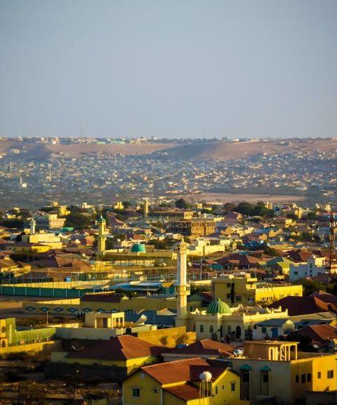 Fly til Somalia