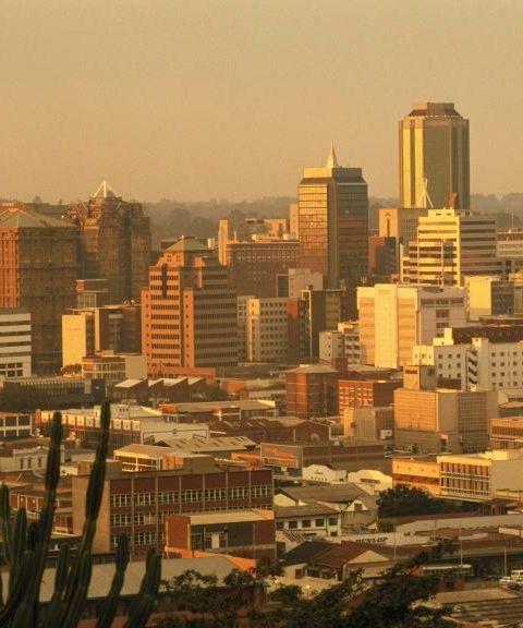 Fly til Zimbabwe