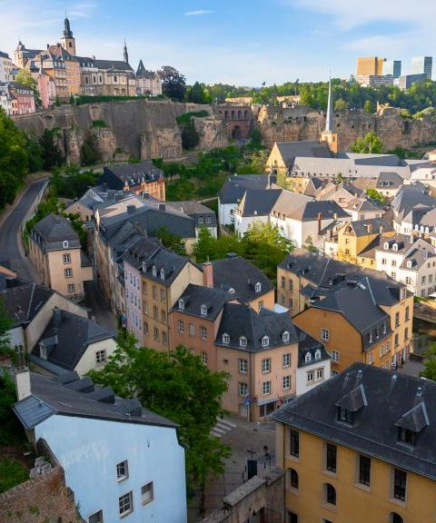 Fly til Luxembourg