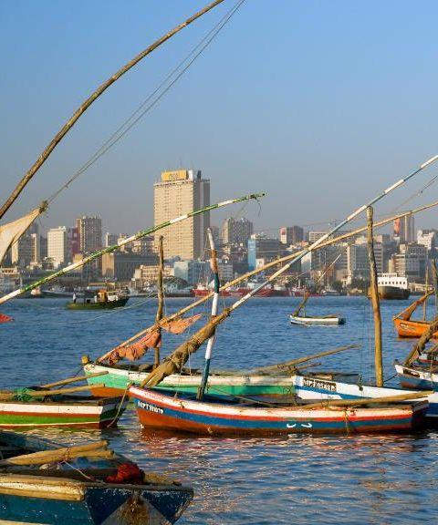 Fly til Mosambik