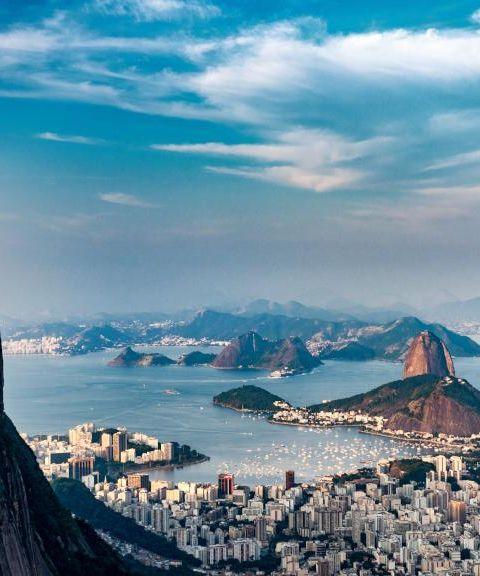Fly til Brasil