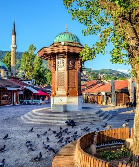 Fly til Bosnia-Hercegovina