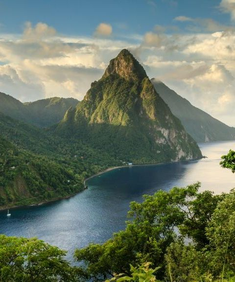 Fly til Saint Lucia