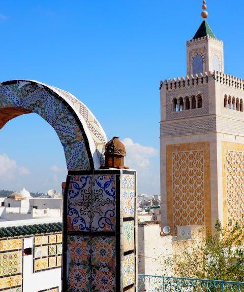 Fly til Tunisia