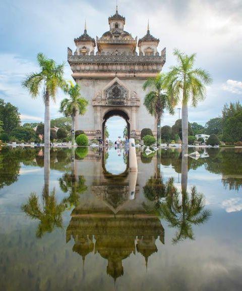 Fly til Laos